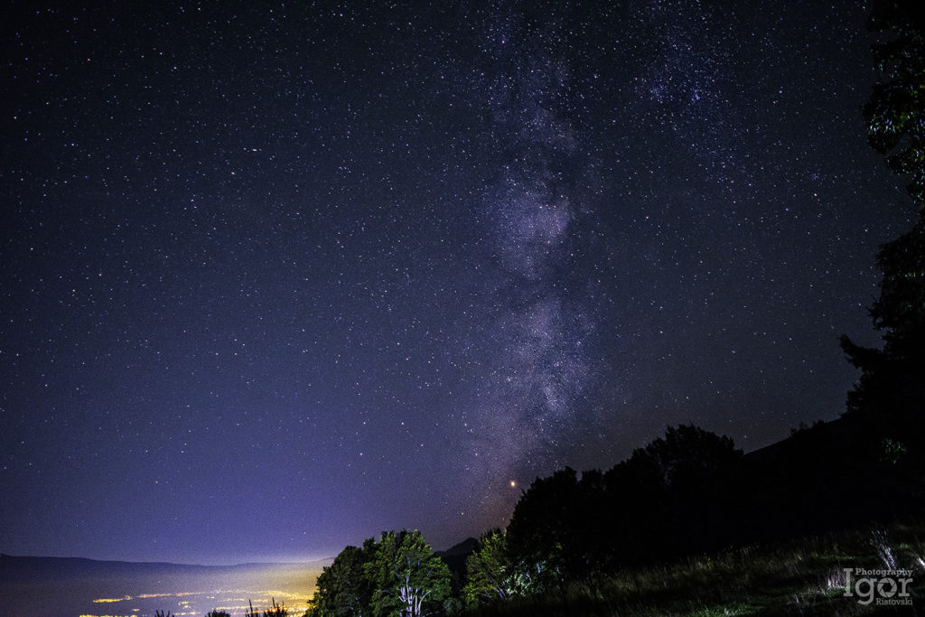Milky way - astrophotography